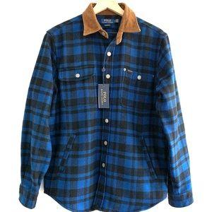 Plaid Shirt Jacket From Polo Ralph Luauren